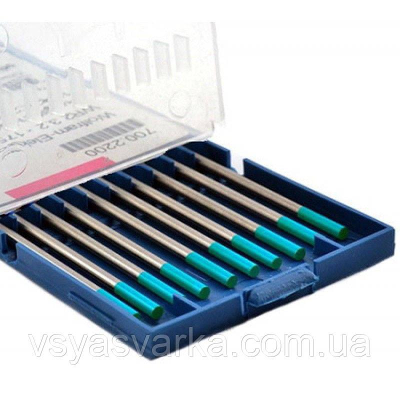 Вольфрамовый электрод WR2  2,0×175 мм (бирюзовый) Abicor Binzel