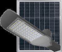 Светодиодный Led Прожектор c солнечной панелью и пультом NEOMAX [60W, 6000K, 4800Lm] 220V NX60ST, фото 1