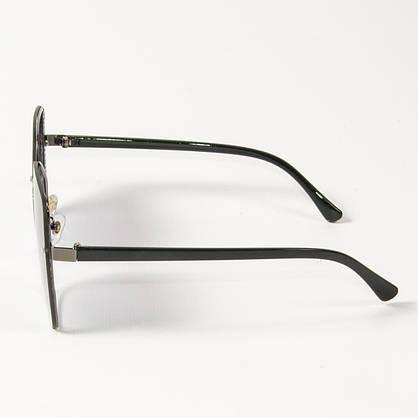 Оптом женские солнцезащитные квадратные очки (арт. 6301/6) черные, фото 3