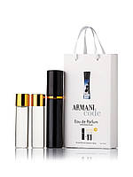 Подарунковий набір Giorgio Armani Code Women 3 по 15 мл