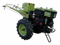 Мотоблок Зубр JR-Q78E с почвофрезой и плугом