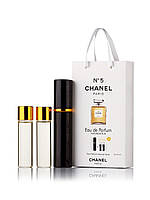 Подарочный набор Chanel N5 3 по 15 мл