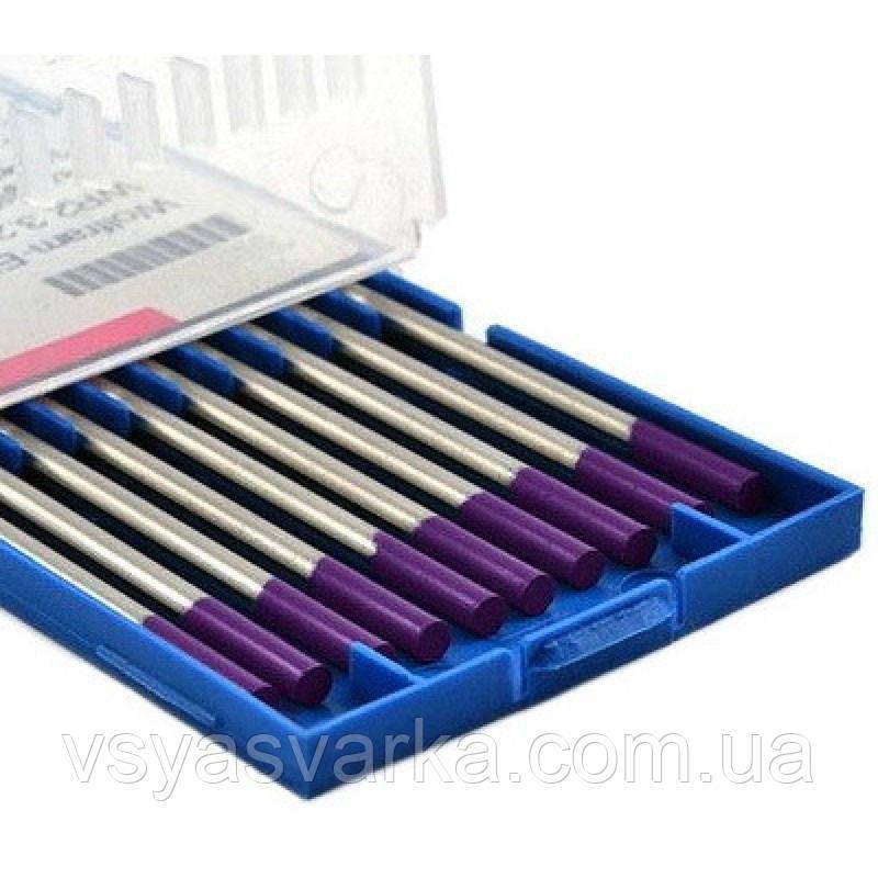 Вольфрамовий електрод E3 1.6×175 мм (фіолетовий) Abicor Binzel