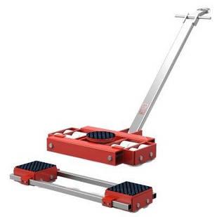Комплект транспортних візків для переміщення верстатів і промислового обладнання F30 і L30 GKS-Perfekt
