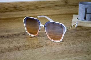Солнцезащитные очки белые 0222-4