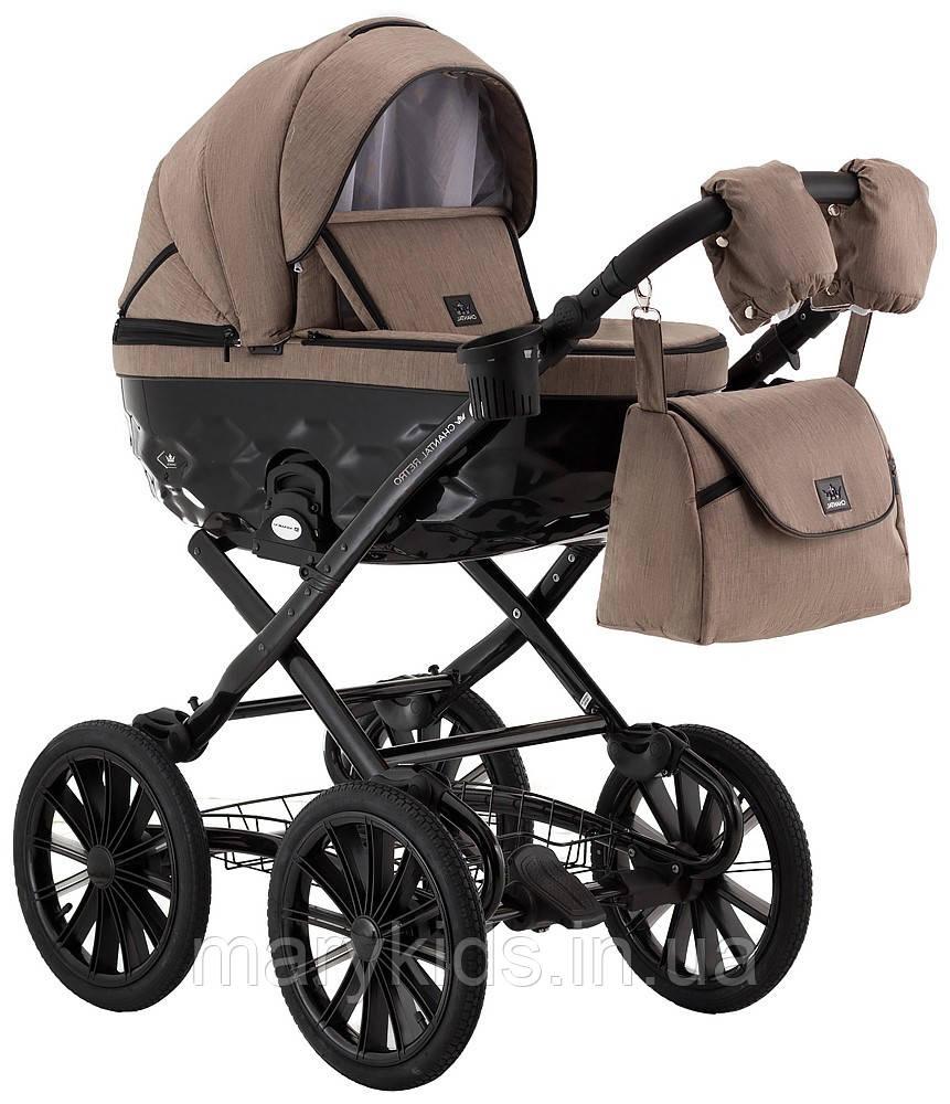 Детская универсальная коляска 2 в 1 Adamex Chantal Retro C205