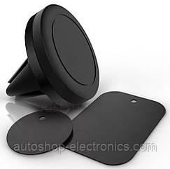 Прорезиненный НЕОДИМОВЫЙ магнитный держатель для телефона, планшета, GPS