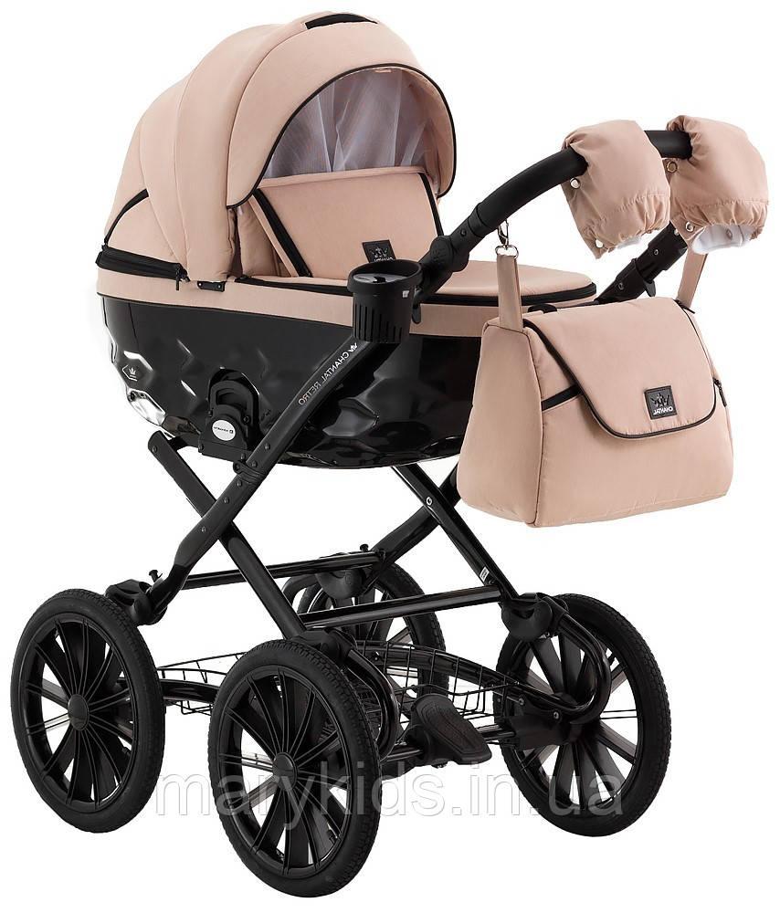 Детская универсальная коляска 2 в 1 Adamex Chantal Retro C222
