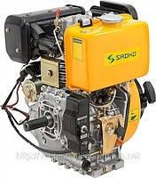 Двигатель дизельный SADKO DE-410МЕ (вал под шлицы, электростартер) (9,0 л.с.)