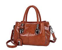 Стильна жіноча сумка ділового стилю, фото 3