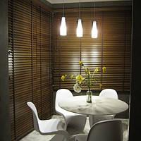 Жалюзи горизонтальные деревянные 50 мм