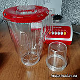 Блендер WimpeX WX 999 2 в 1,с кофемолкой,красний, 500 Вт, фото 10