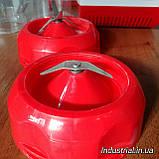 Блендер WimpeX WX 999 2 в 1,с кофемолкой,красний, 500 Вт, фото 8