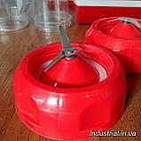 Блендер WimpeX WX 999 2 в 1,с кофемолкой,красний, 500 Вт, фото 7