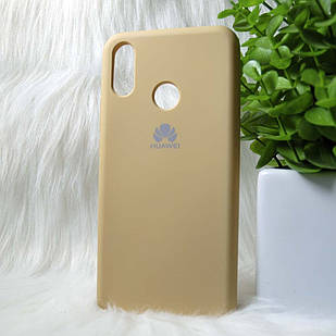 Чехол Huawei P Smart Plus золотой
