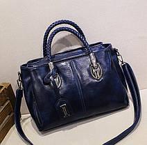 Стильна жіноча сумка ділового стилю, фото 2