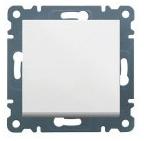 Выключатель 1-тактовый Lumina-2 белый