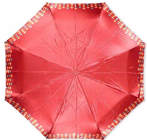 Отличный женский зонт из понжа, автомат Susino 3970-2
