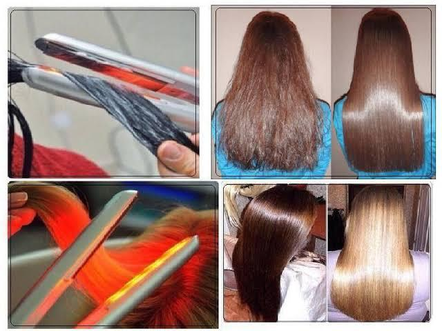 Утюжок ультразвуковой инфракрасный (молекулярное восстановление волос)