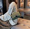 Элегантная сумка клатч на цепочке с декором, фото 6