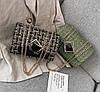 Элегантная сумка клатч на цепочке с декором, фото 2