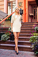 Платье молочного цвета Versal 44-46, 48-50 размеры Jadone