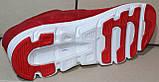 Кроссовки сетка красные мужские на липучке от производителя модель ЛМ100-4, фото 6