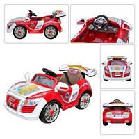 Детский электромобиль Audi M 0561 красный