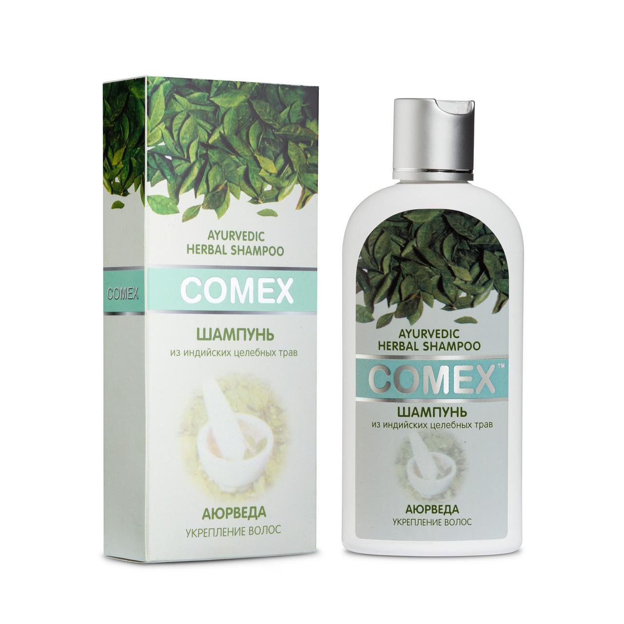 Аюрведический шампунь из индийских трав «Comex» 200 мл
