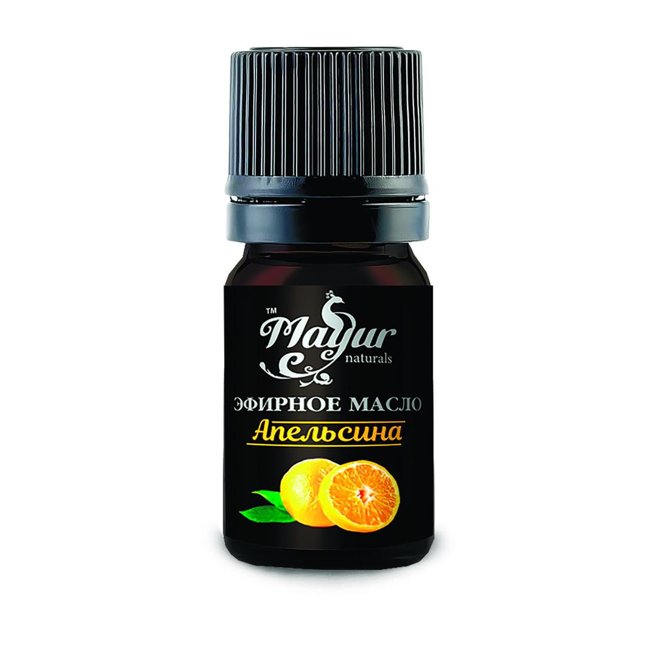 Эфирное масло апельсина, TM Mayur 5 мл