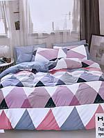 Стильный однотонный постельный комплект Yifeng 200*230