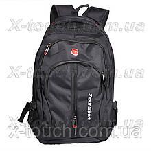 Чоловічий рюкзак, що не промокає Zhierxin 8823, чорний.