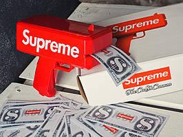 Денежный Пистолет Supreme Money Gun красный,черный