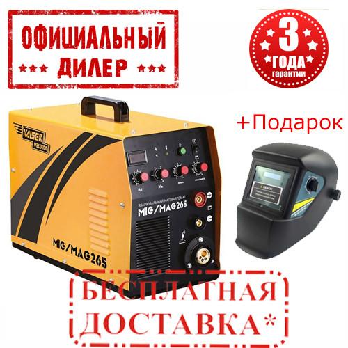 Купить Сварочный полуавтомат KAISER MIG-265 2в1 (8.5 кВт, 265 А)