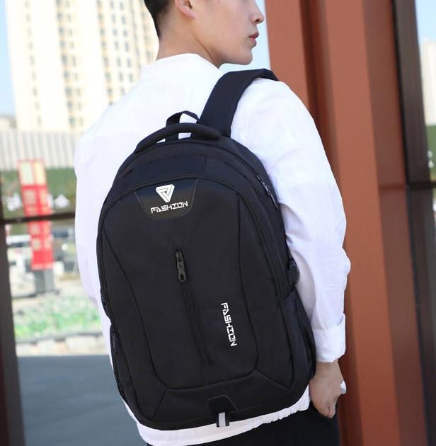 Вместительный тканевый рюкзак Унисекс
