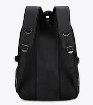 Вместительный тканевый рюкзак Унисекс, фото 2
