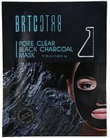 Маска с черным углем для очищения пор от загрязнения BRTC Pore Clear Black Charcoal Mask