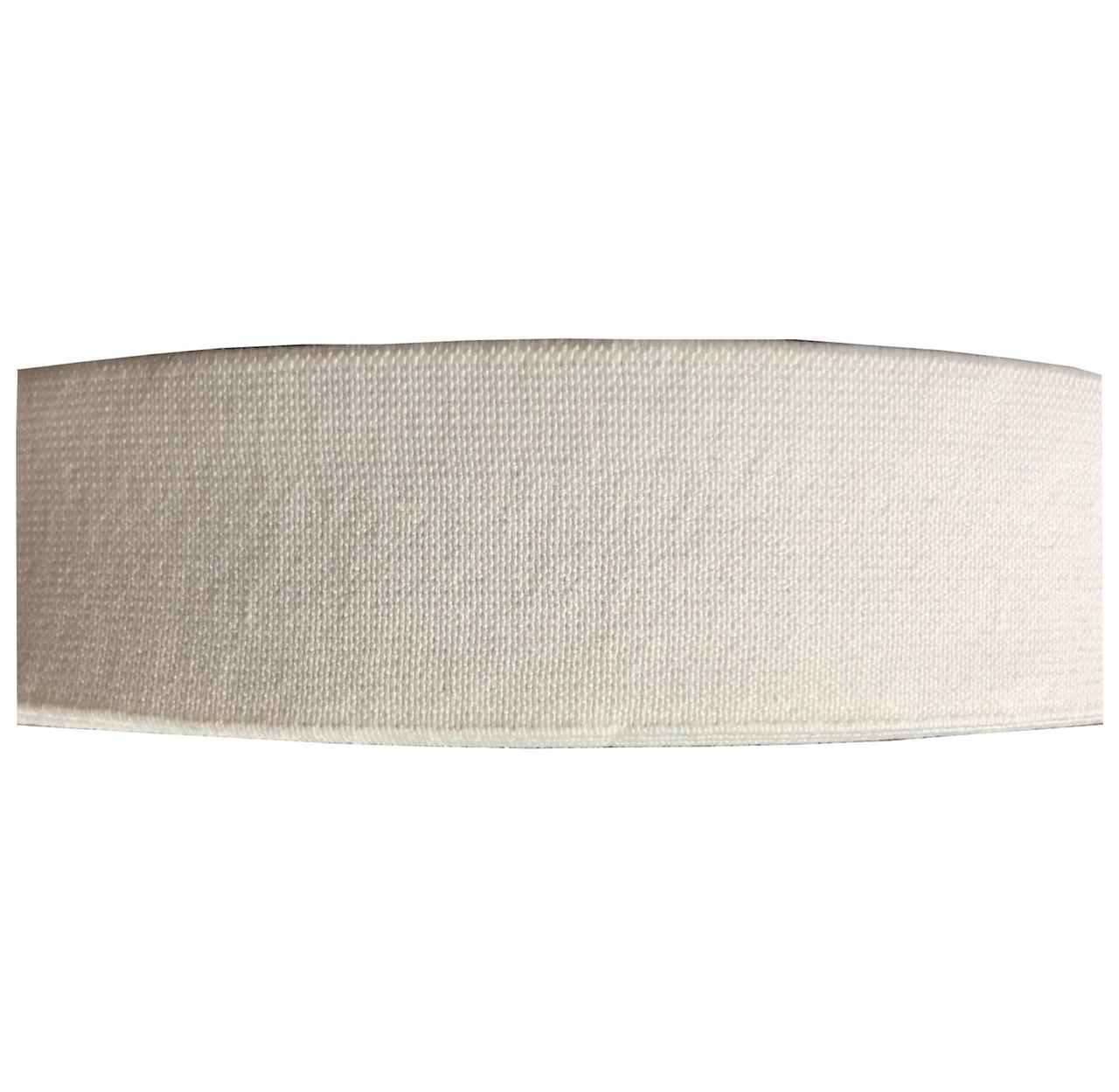 Резинка тканая 035мм цв белый (уп 25м) 3072 Укр-з