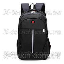 Чоловічий рюкзак, що не промокає DengSiya 8896, чорний.