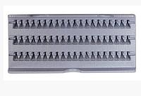 Ресницы пучки YRE 10 мм. Изгиб С