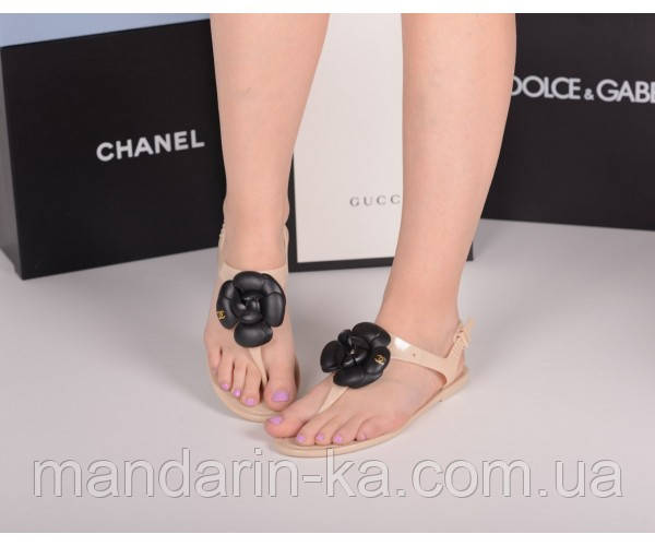 Шлепанцы Chanel