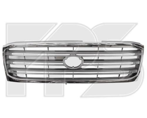 Решетка радиатора Toyota Land Cruiser J100 хромированная (FPS). 5310160270