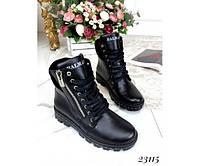 Ботинки Balmain с замшевой пяточкой, фото 1