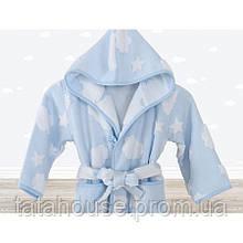 Халат детский Irya - Cloud голубой