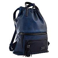 Рюкзак женский YW-11, джинсовый синий, фото 1