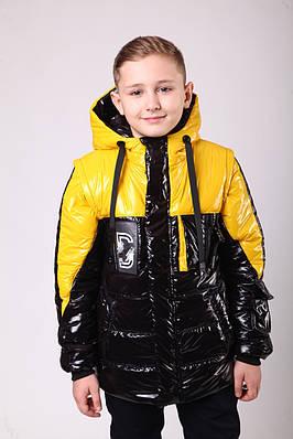 Куртка весняна для хлопчика підлітка 34:36