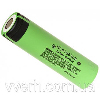 Аккумулятор 18650 Panasonic NCR18650B 3400 mAh Li-ion (NCR18650B)
