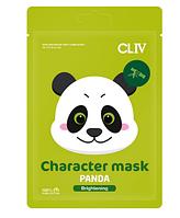 """Тканевая маска для сияния кожи лица """"Панда"""" CLIV Character Mask Panda"""