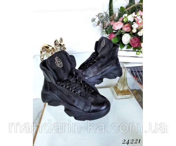 Ботинки Муха скрытая шнуровка