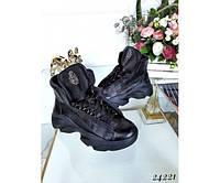 Ботинки Муха скрытая шнуровка, фото 1
